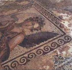 Eshmoun Azar - Mosaic of Four Seasons - Saida Lebanon