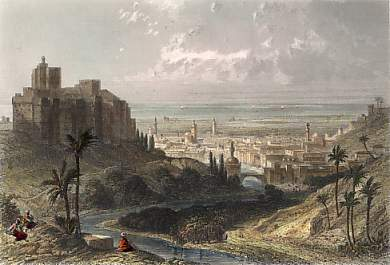 Tripoli View around 1800